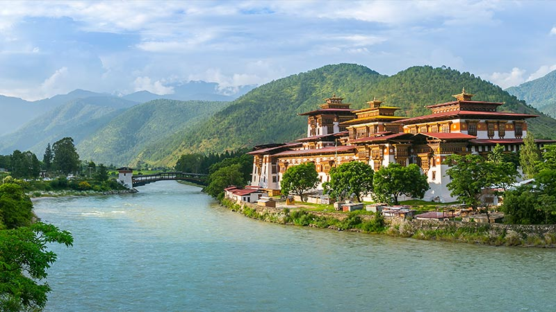 Hotell Indien - Bhutan - Bangladesh
